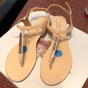 CK 7 1/2 sandals